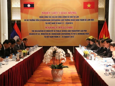 Vietnam, Laos affirm close cooperation in transport