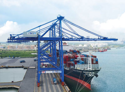 Cai Mep-Thi Vai shipping route upgrade proposed