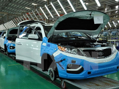 Hanoi industrial production index up 7.4 pct in eight months