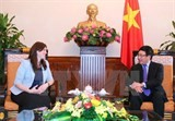 vietnam promotes multi faceted cooperation with israel