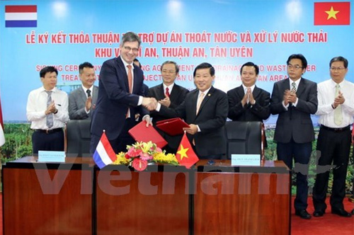 Netherlands aids waste treatment project in Binh Duong