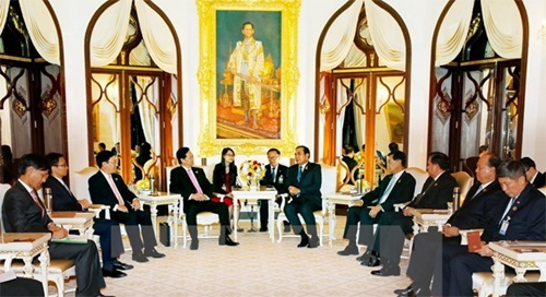 Vietnam-Thailand relations see strong development