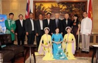 thailand vietnam celebrate 40 years of diplomatic ties