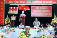 thai binh urged to grow faster through agriculture