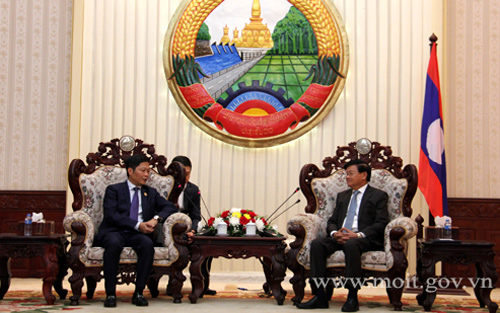 Laos welcomes Vietnam's projects on goods production, wood processing