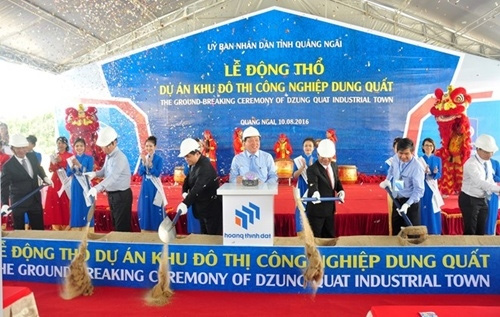 Work begins on Dung Quat project