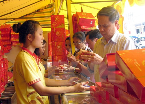 Moon cakes hit the market early