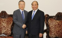pm hosts former roks policy co ordination minister