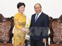 pm hopes hong kong to build ties with vietnams localities