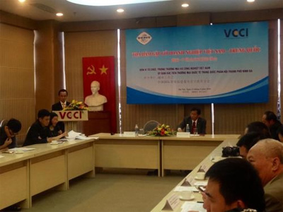 Vietnam, China's locality boost links