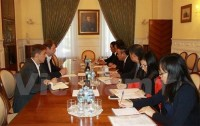 party commission delegation visits russia