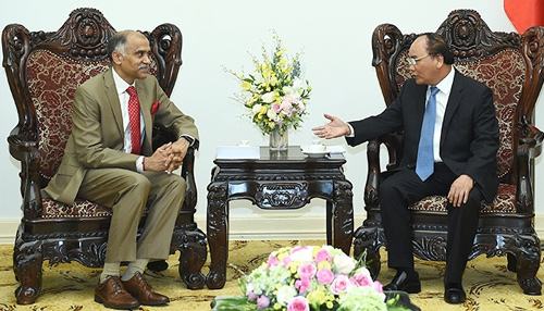 PM urges to raise Vietnam-India trade to US$15 billion