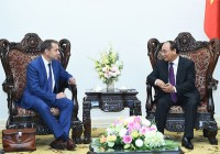 prime minister receives french ambassador to vietnam
