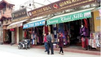 silk village moves toward sustainable development