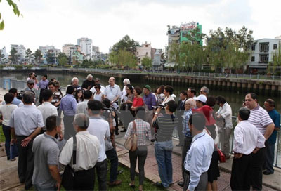 HCM City: Boat tour on Nhieu Loc-Thi Nghe launched