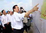 pm launches power supply project to southern island commune