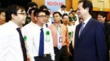 pm urges favourable conditions for young scientists creativity