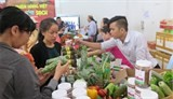 first safe farm produce market in hcm city