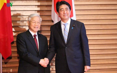 Japanese media carries news stories about Vietnam, Japan cooperation
