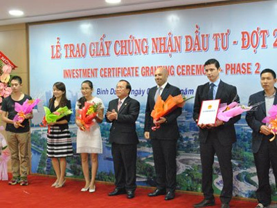 Binh Duong attracts $1.4 billion in FDI