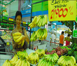 VN to overtake Philippines' banana trade