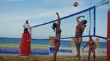 thousands prepare for beach games