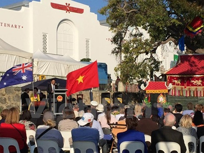 VN shows off its products at Australian agricultural fair