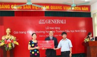 generali vietnam funds technology music in ninh giang primary school