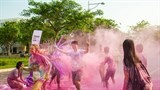 colour me run held for the first time in hanoi