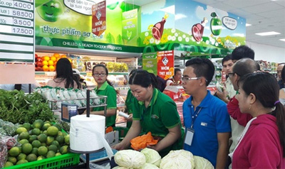 Co.op Food's first shop opens in HCM City