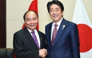 prime minister meets japanese new zealand counterparts