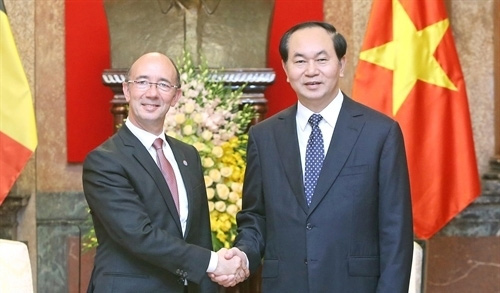 President applauds Wallonie-Bruxelles's co-operation with Vietnam
