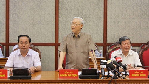 Party chief underscores resources for Can Tho development