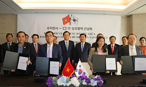 RoK's CJ group cooperates with SATRA on food industry venture