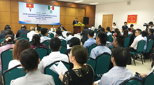 Pushing investment, trade ties between Vietnam and Mexico