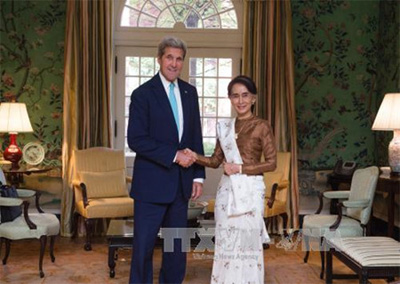 The US to lift Myanmar sanctions