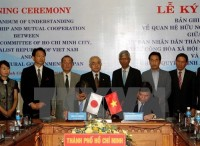 ho chi minh city japans aichi prefecture foster ties