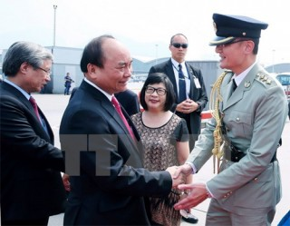 pm finishes tour of china
