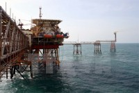 vietsovpetro launches topsides of super size platform