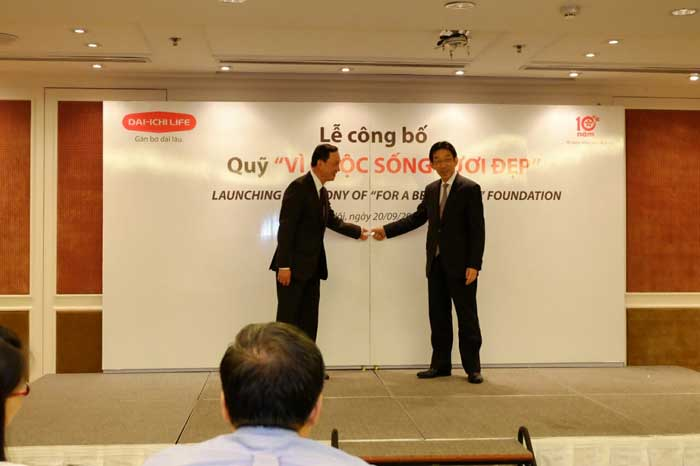 "Dai-ichi Life Vietnam launches ""For A Better Life"" CSR Foundation"