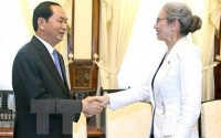 vietnam wants to boost ties with netherlands president