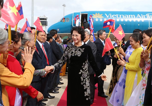 National Assembly leader begins Laos visit