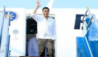philippine president begins official visit to vietnam