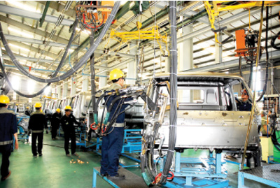 Enhancing support industry for automobile sector