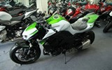 first pearl white kawasaki z1000 2016 arrives in hcm city