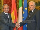 italian president hopes for closer vietnam italy ties
