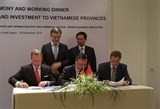 vietnamese localities german businesses boost trade links