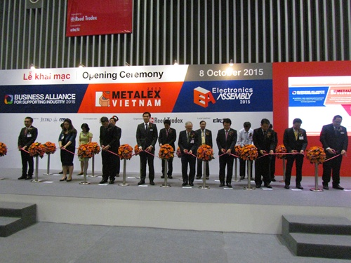 4 expos on metalworking, supporting industries open in HCM City