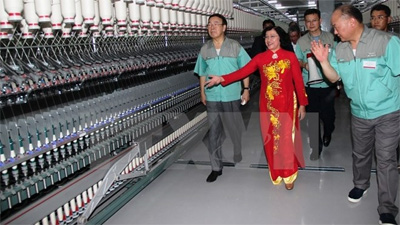 RoK-based fiber weaving plant inaugurated in Tay Ninh