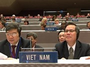 Vietnam participates in WIPO 55th session